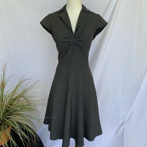 Calvin Klein Business Office Grey Dress SZ 4